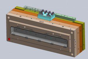 Hotrnner aanpassen matrijs doorsnede-002 (L=1600 X B=600 mm)