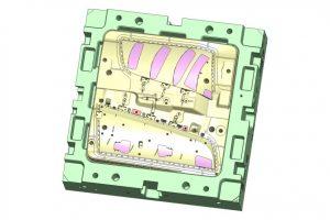 Productwijziging matrijs 1005X1005 mm (matrijs samengesteld 11.000 Kg)